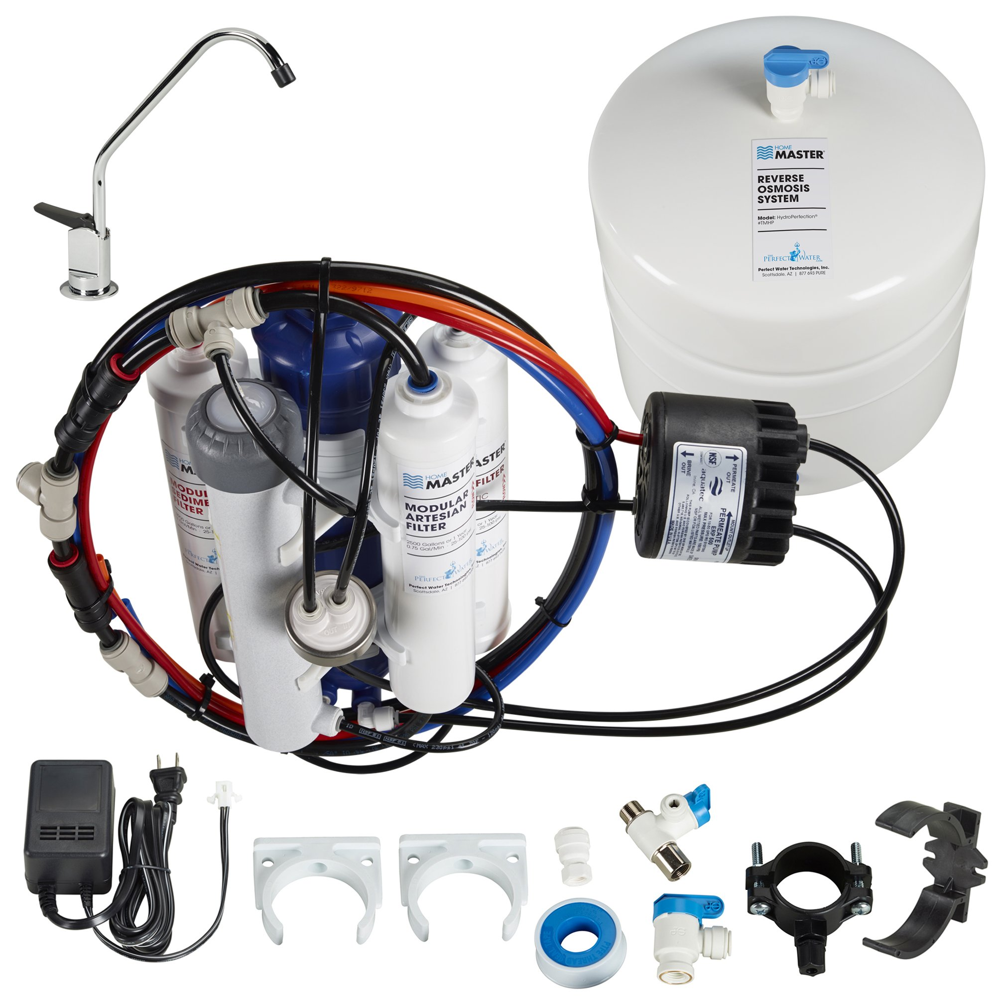Home Master TMHP HydroPerfection Undersink Reverse Osmosis Water Filter System by Home Master (Image #1)