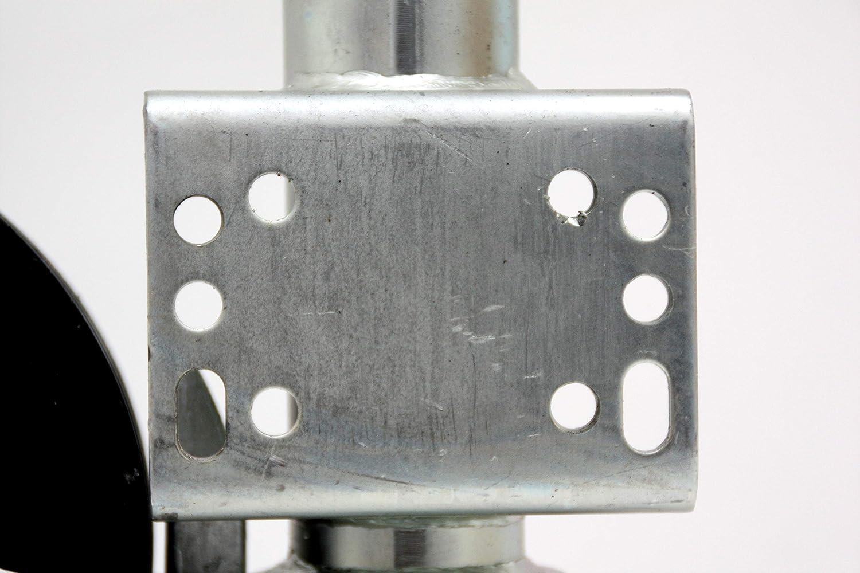 500 kg per rimorchio auto VK 60-BLH-255 SB Carico di supporto Ruota di sostegno automatica di alta qualit/à Winterhoff con flangia universale extra lunga max p4U