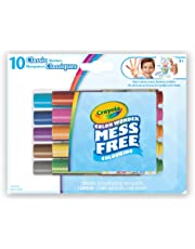 Crayola Color Wonder 10ct Mini Markers, Classic, Mess Free Colouring, Washable, No Mess, for Girls and Boys, Gift for Boys and Girls, Kids, Ages 3, 4, 5,6 and Up, Summer Travel, Cottage, Camping, on-the-go,  Arts and Crafts,  Gifting