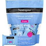 Neutrogena Makeup Remover Cleansing Towelette Singles, Daily Face Wipes To Remove Dirt, Oil, Makeup & Waterproof Mascara…