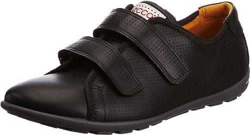 Shoes Femme Jab ECCO Mode Noir VelcroBaskets Noir39 n80PkwOX