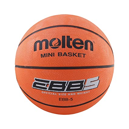 Molten EBB - Balon de Baloncesto Amateur, Mujer, Naranja, Talla 6 ...