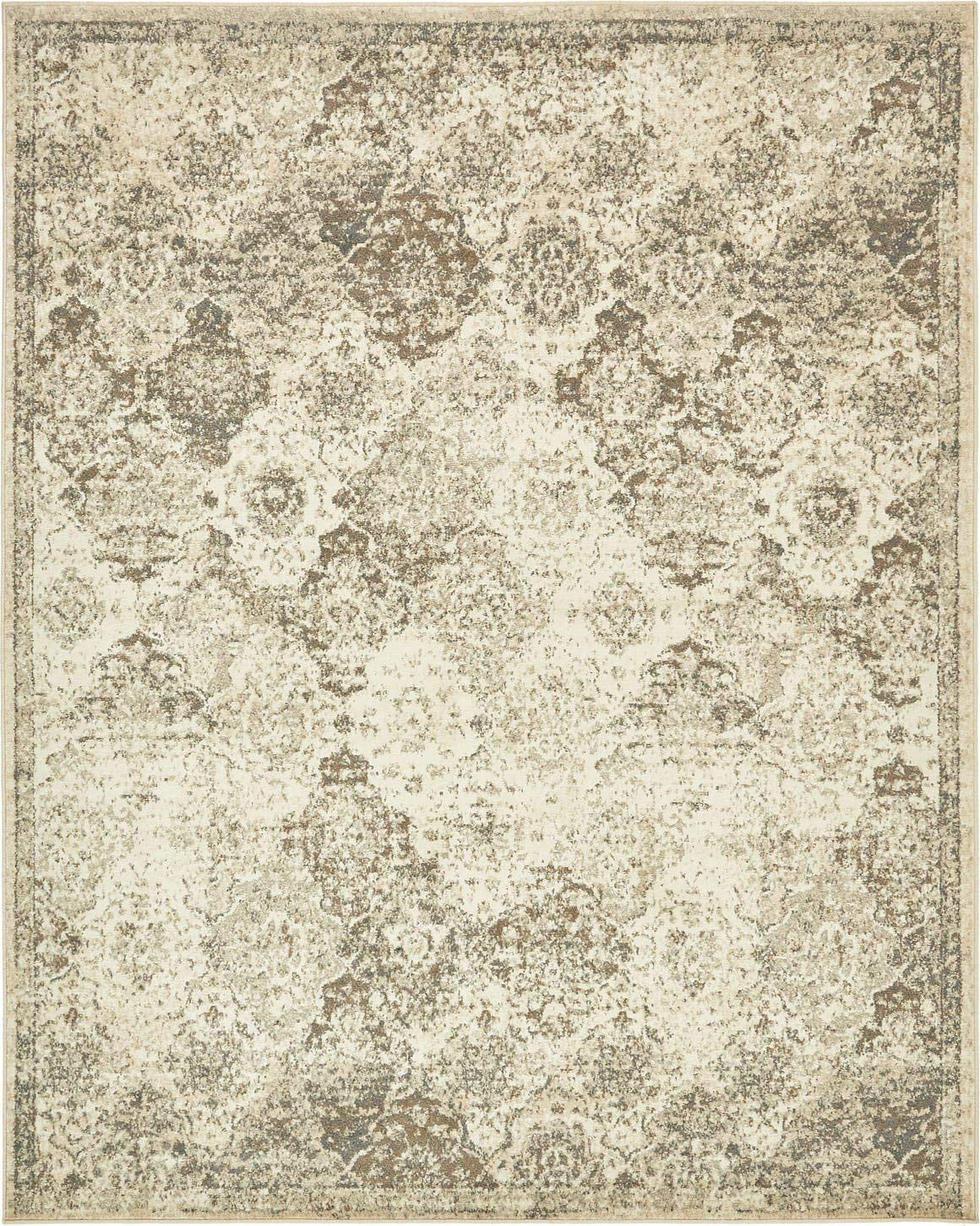 Unique Loom Tuareg Collection Vintage Distressed Traditional Beige Area Rug 8 0 x 10 0