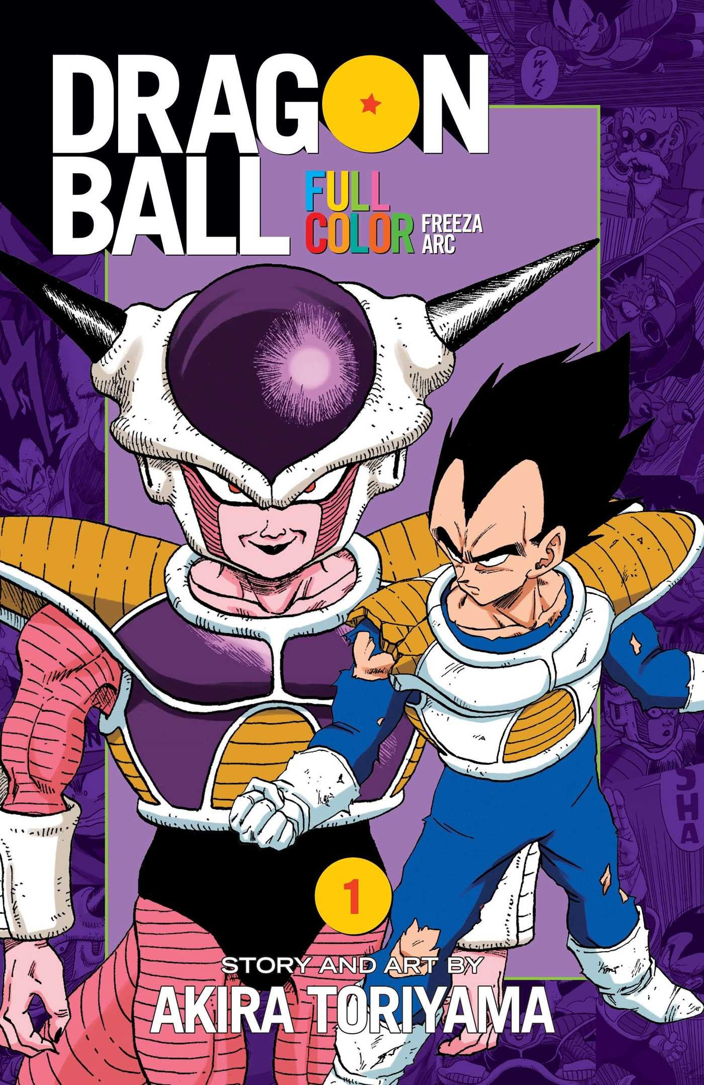 Dragon Ball Full Color Freeza Arc, Vol. 1: Akira Toriyama ...