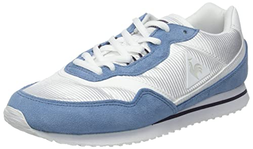 Le Coq Sportif Louise Sport Optical White/Blue Shadow, Zapatillas para Mujer: Amazon.es: Zapatos y complementos