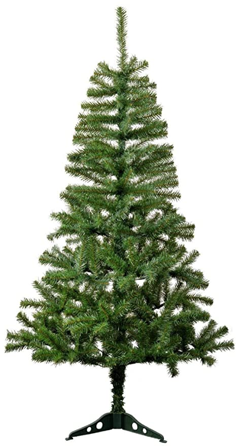 WebelKart Plastic Foldable Christmas Tree (6ft., Green)