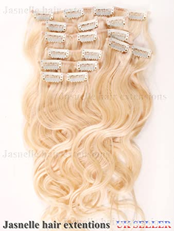 Amazon 22 inches full head clip in 7 pieces 100 remy image unavailable pmusecretfo Images