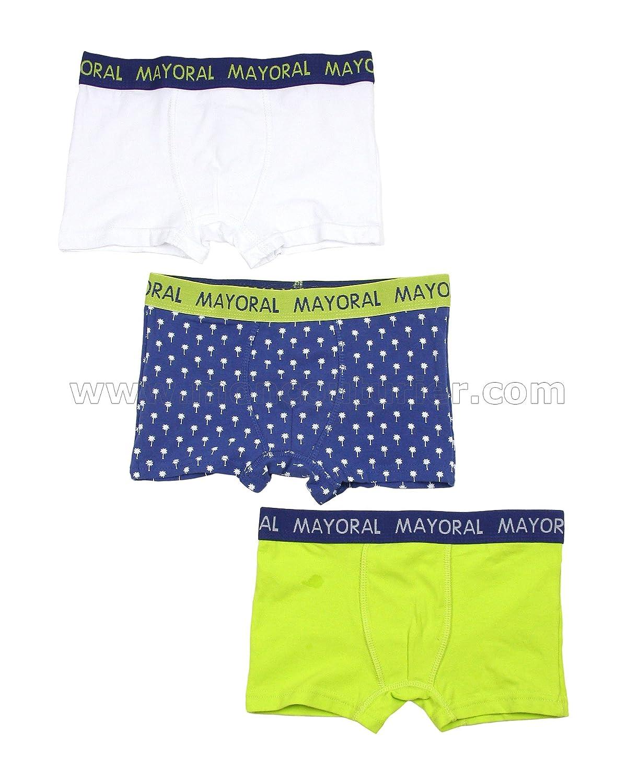 Mayoral Boy's 3-Piece Boxers Set, Sizes 2-14