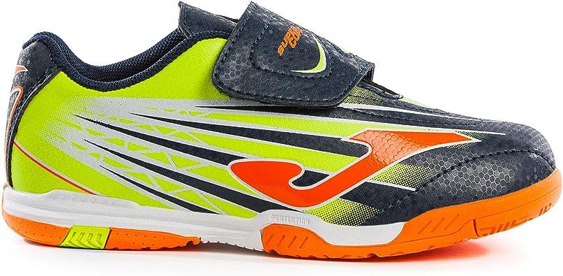 Joma Super Copa JR Zapatillas Fútbol Sala niño: Amazon.es: Zapatos ...