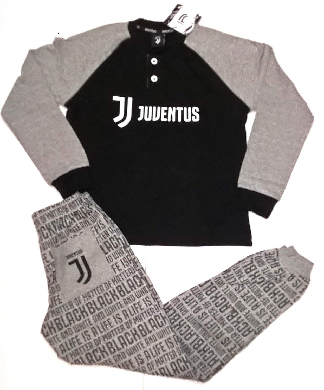 Pijama Juventus Producto Oficial Juve niño niño, Negro, 10 años ...