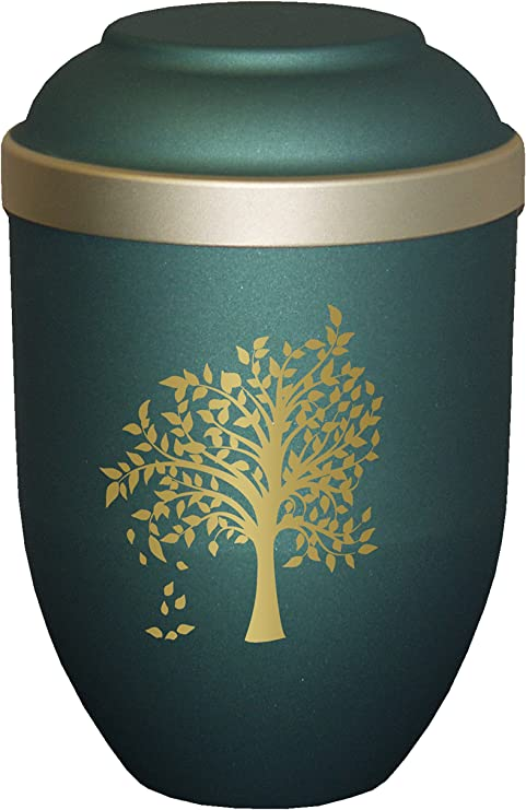 Urns UK árbol de cremación Cenizas biodegradables, Materiales ...