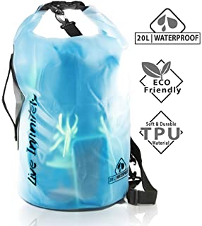 2e727751766 Live Infinitely 20L Waterproof Dry Bag Transparent TPU Which is Stronger