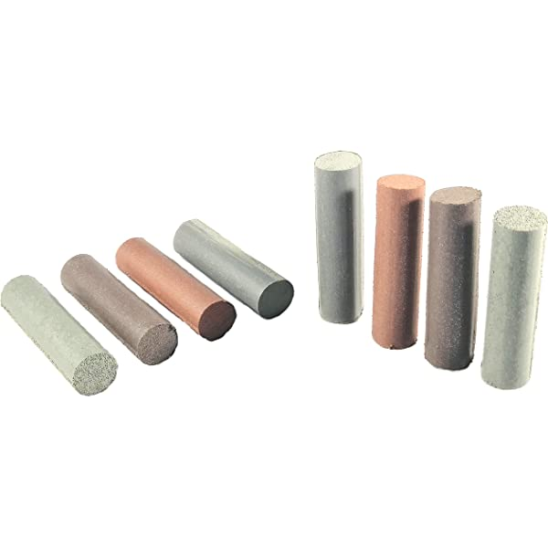 METAL FINISHING CRATEX ABRASIVES ROUND ROD 6X1//2 FINE