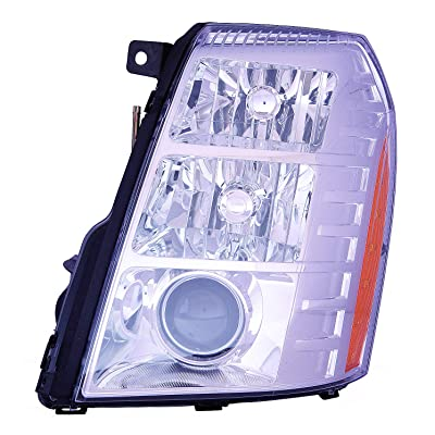 Depo 332-11B3L-ASHN Head Lamp Assembly (Cadillac Escalade 09-14/Escalade Esv 07-14/Ext/Hybrid 09-13with Hid 2Nd Design): Automotive