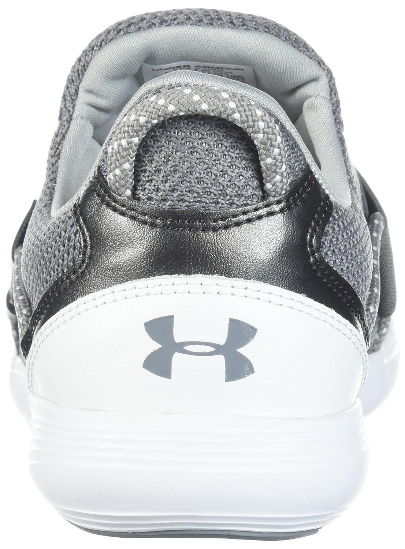 Under Armour Women's Precision X Sneaker B071Z92F6D 11 M US|Zinc Gray (102)/White