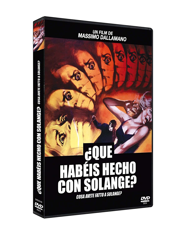 ¿Qué habéis hecho con Solange? DVD 1972 Cosa avete fatto a Solange? [Non-usa Format: Pal -Import- Spain ]