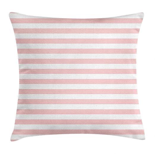 MeiMei2 - Funda de cojín, diseño de Rayas Rosas de Colores ...
