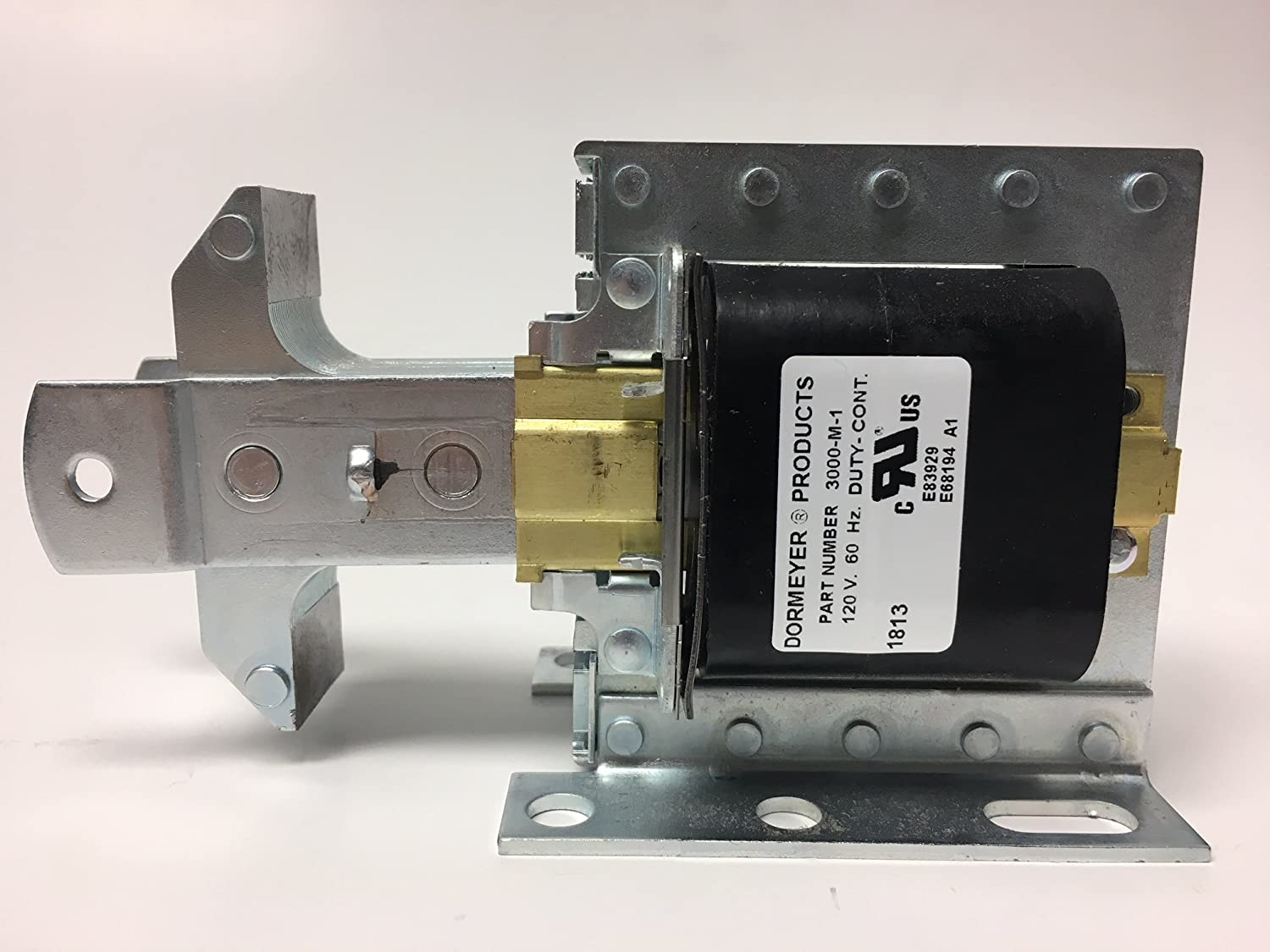 Dormeyer 3000-M-1 Laminated Solenoid 1//8in 1-1//4in Continuous