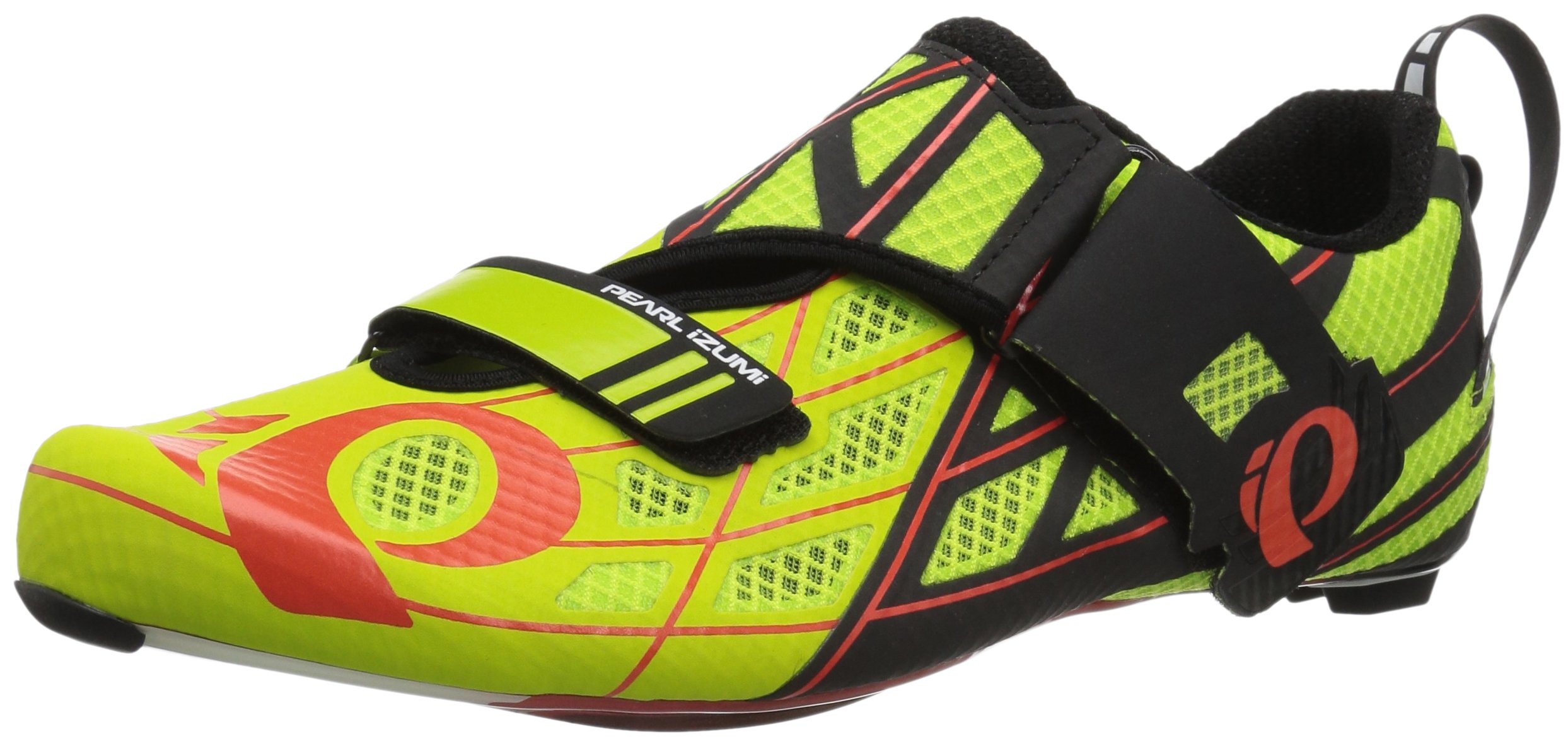 Pearl Izumi Tri Fly Pro v3 Cycling-Footwear, Lime Punch/Black, 48 EU/13 D US
