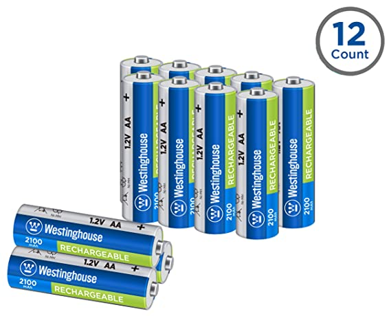 Review Westinghouse 2100mAh NH rechargeable