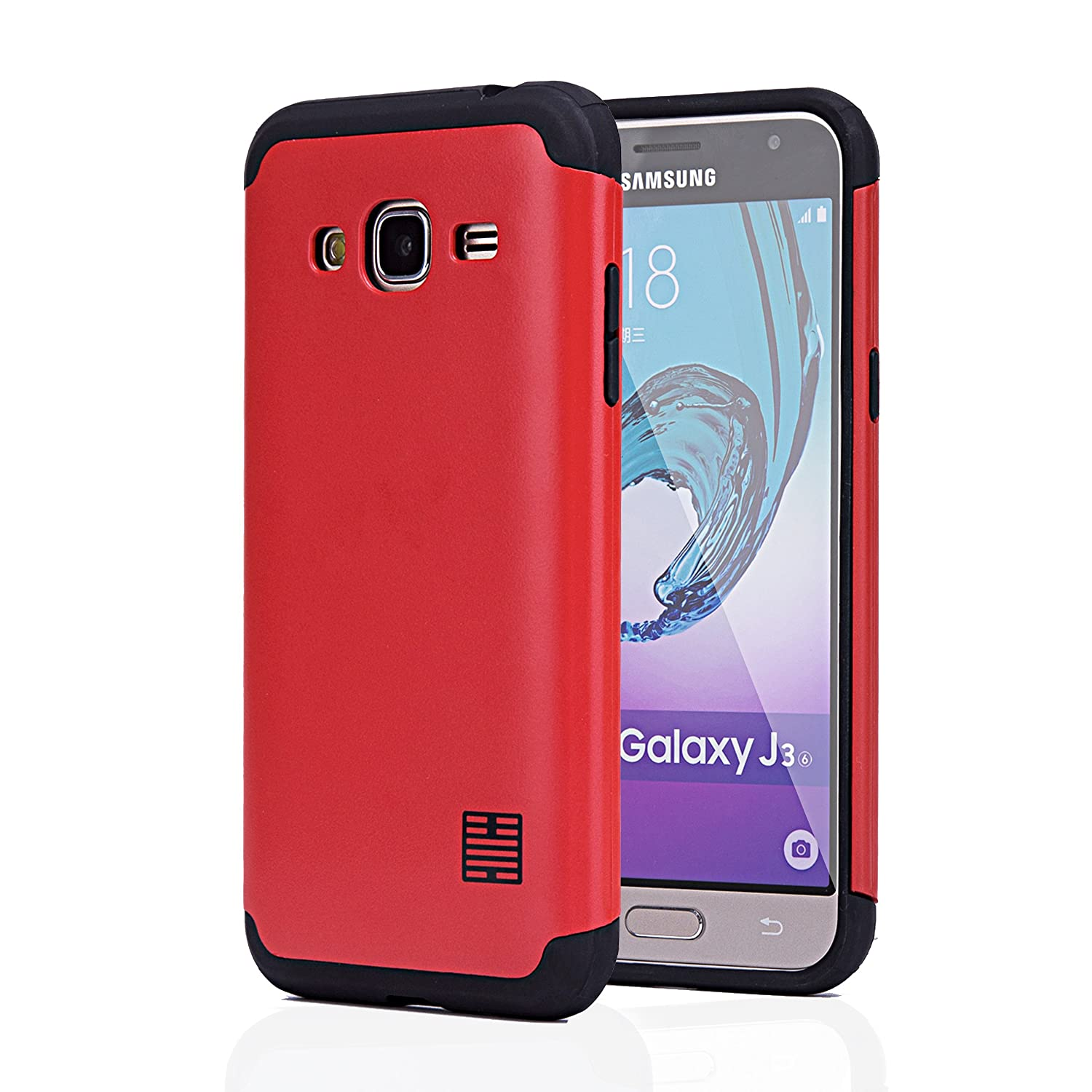 32nd Slim Armor Tough Case Cover For Samsung Galaxy J3 Lcd 2016 J320 Aa Sky V Amp Prime Express Primegalaxy Sol