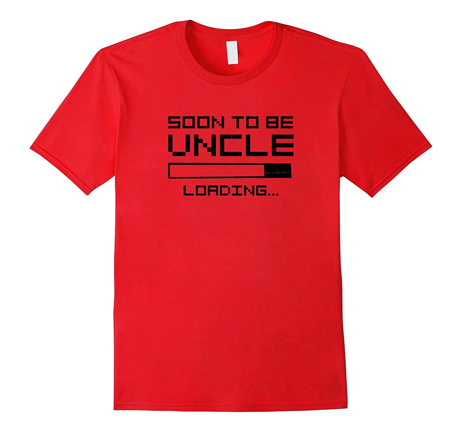 Mens Soon To Be Uncle Gift Reveal Pregnancy Announcement Shirt-FL