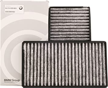 OEM Cabin Air Filter Set Activated Charcoal For BMW E60 E63 E64 M5 M6 Premium