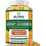 Premium Gummies - Maximum Strength - 90 cts - Anxiety, Pain, Stress, Nausea, Inflammation Support - Healthy Sleep Formula – M