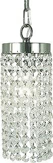 product image for Framburg 2271 PS 1-Light Princessa Pendant, Polished Silver