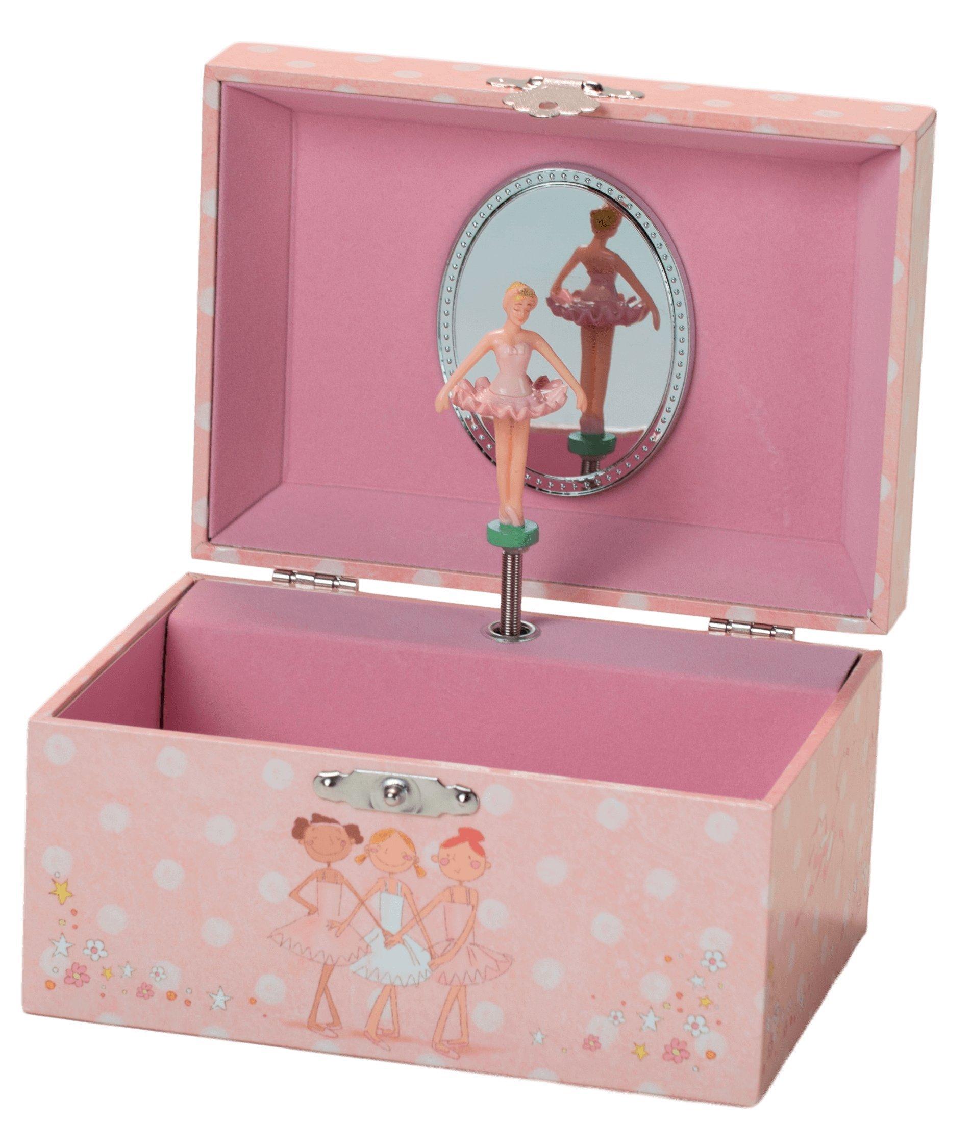 The San Francisco Music Box Company Ballerina Keepsake Jewelry Box