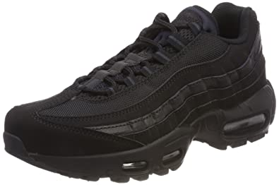 Comfortable Nike Air Max 95 Running Shoes Dark GreyBlack