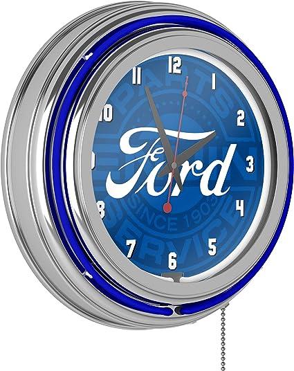 Ford Parts Wall Clock