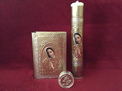 Amazon.com : First Holy Communion Embossed Virgin Of ...