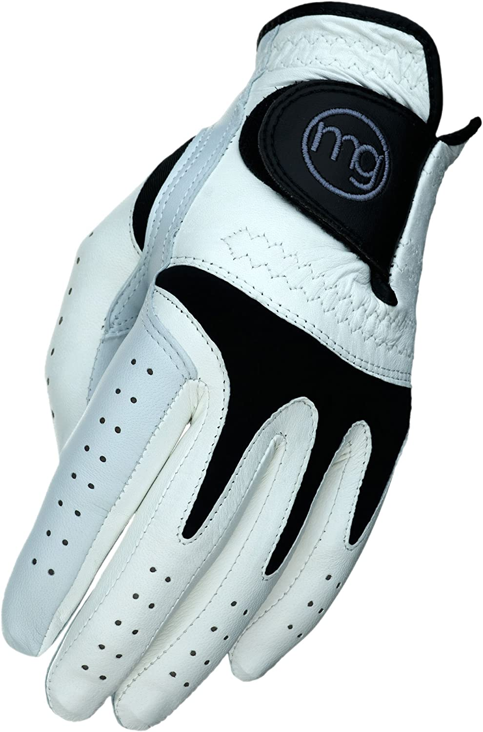 MG Golf Glove Mens TechGrip All-Cabretta Leather (Regular Sizes)