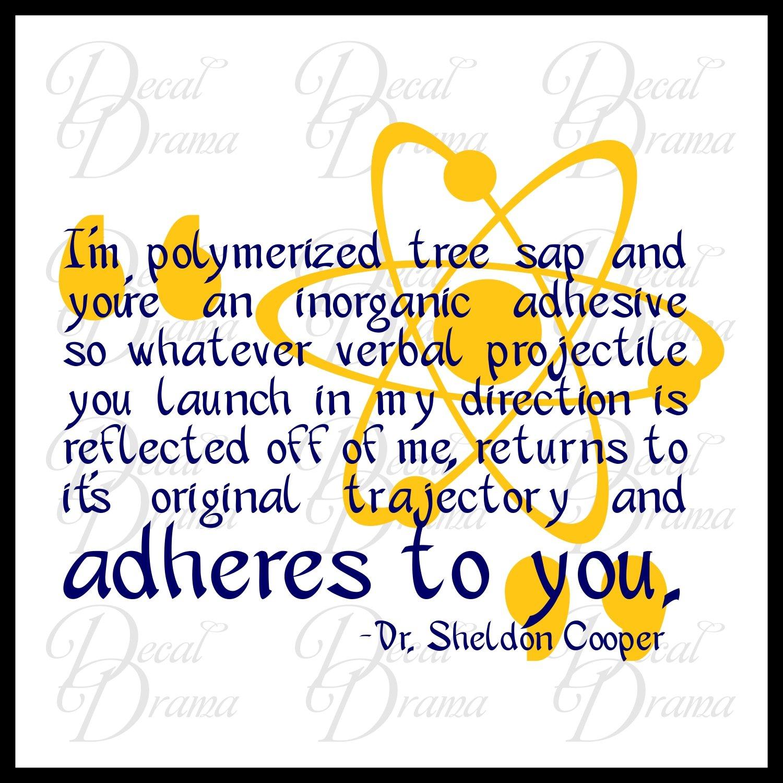 Amazon.com: I am polymerized tree sap and you re an inorganic ...