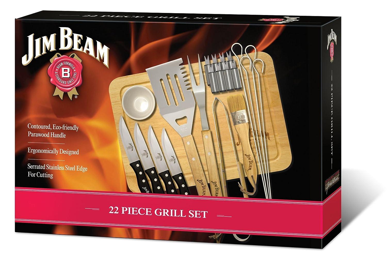 22-teiliges Grill Set / Bild: Amazon.de