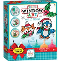 Creativity For Kids 6199000 Holiday Window Paint Clings Art, Multicolor