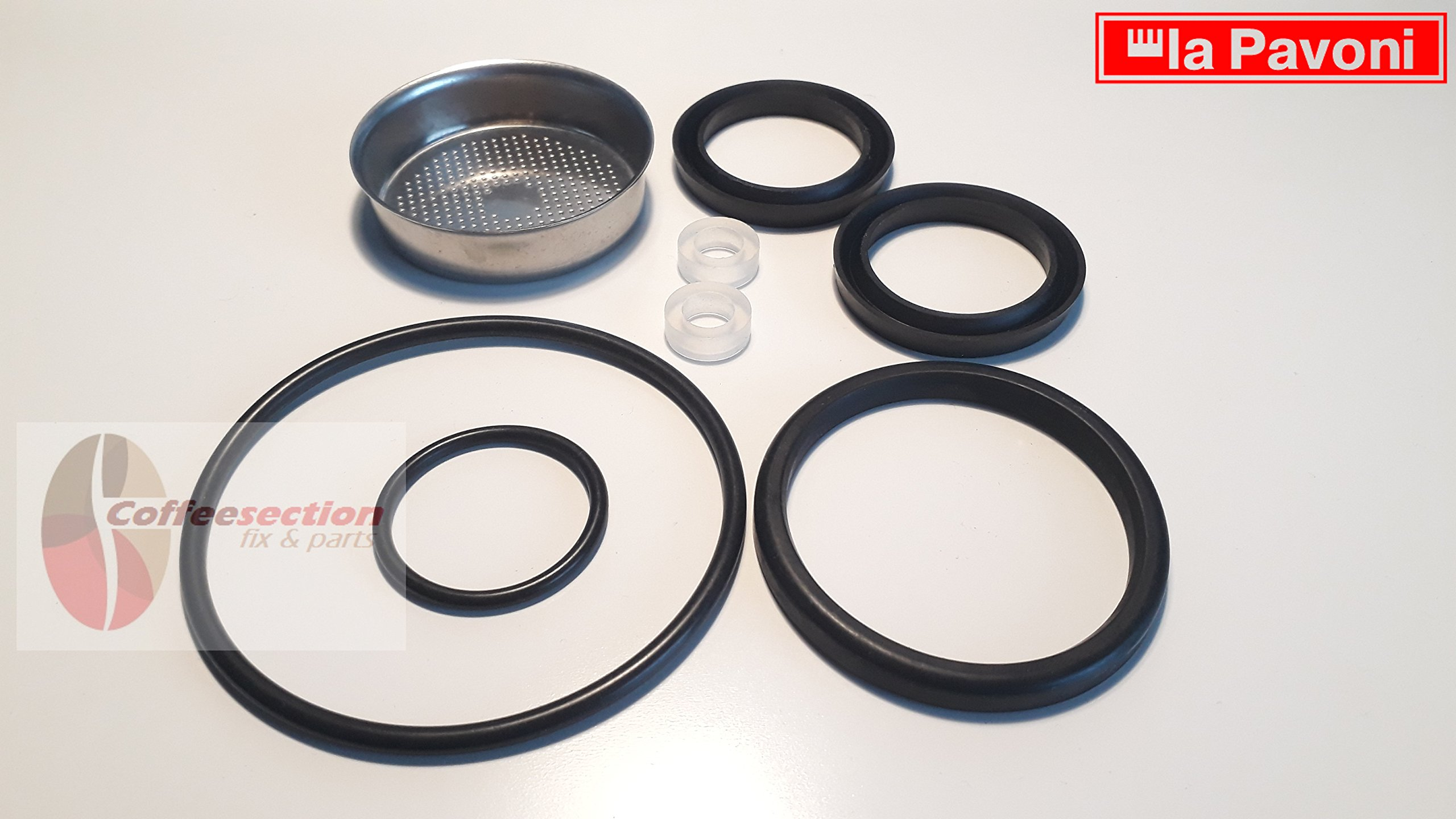 La Pavoni set, Replacement Gasket Kit, Europiccola, Professional, PRE Millennium