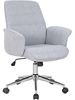 Office Swivel Chair Grey   0704M 2488Songmics Office Chair with Adjustable High Back Executive Desk  . Grey Fabric Office Chair. Home Design Ideas