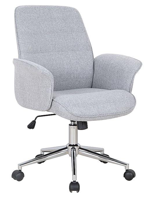 Royaume-Uni disponibilité 13bef e444e SixBros. Chaise de Bureau Gris 0704M/2488