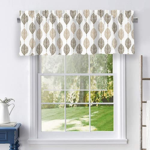 Stylemaster Home Products Melbourne Valance, 50 X 17 , Wheat