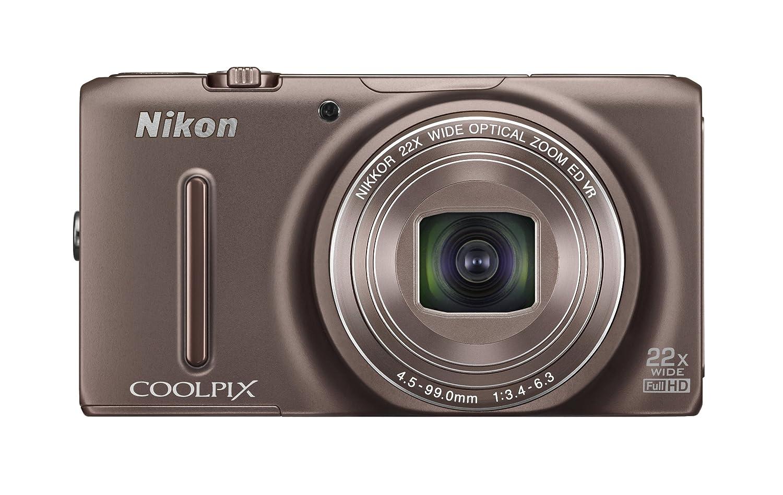 Nikon デジタルカメラ COOLPIX S9500 光学22倍ズーム Wi-Fi対応 セピアブラウン S9500BR  セピアブラウン B00B7FO24W