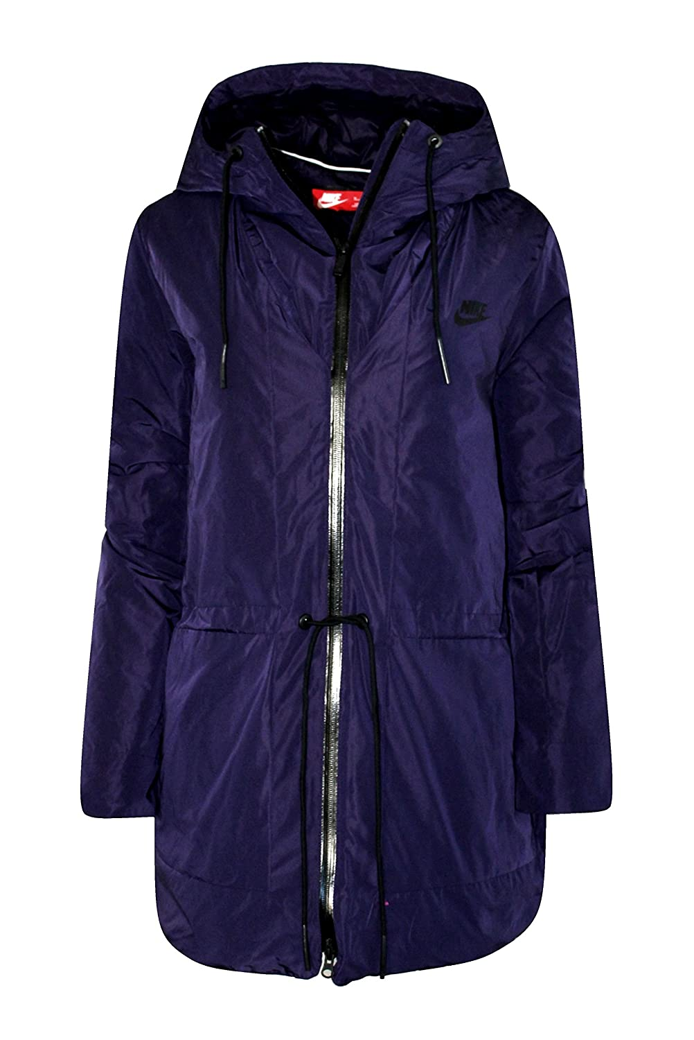 ef34169d2ad2 Nike Women s Insulated Down Hooded Parka Jacket Purple at Amazon Women s  Coats Shop