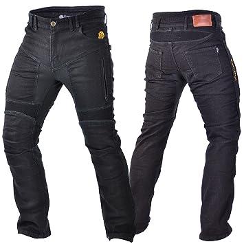 a0fb8ca887ad Trilobite Parado Motorrad Jeans Hose L32 Schwarz Herren Stretch ...