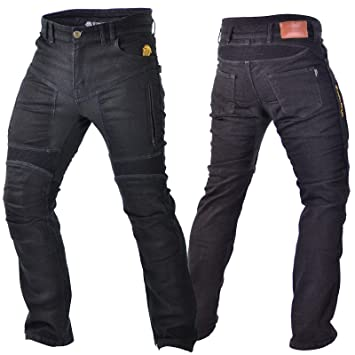 Pants Apparel & Merchandise Trilobite Acid Scrambler Schwarz Herren Motorradhose Jeanshose Länge 32 Aramid