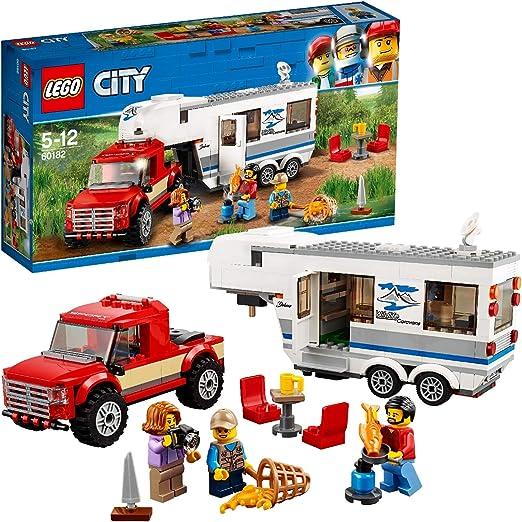 LEGO 60182 City Pickup & Caravan: Amazon.co.uk: Toys & Games