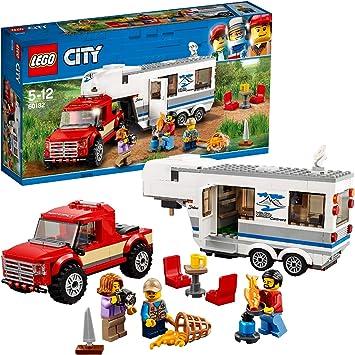 2 x LEGO® Aufbauanleitung 60182 City,Wohnmobil 1+2 Kein Set //Instruktion Neu.