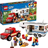 LEGO 60182 City Vehicles Pickup and Caravan, Suitable for 5-12 years old