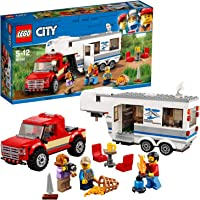 Lego - City Pikap ve Karavan (60182)