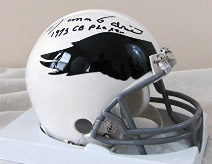 the latest 87730 a81ba Amazon.com: Roman Gabriel Autographed White Mini Helmet ...